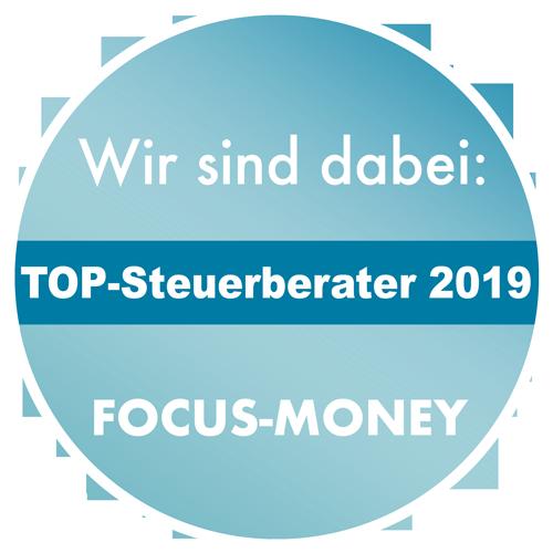 Auszeichnung Focus-Money: Beste Steuerberater 2019